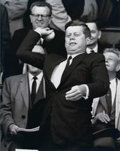 PRESIDENT JOHN F KENNEDY 8X10 PHOTO PICTURE JFK THROWING BASEBALL - $3.95