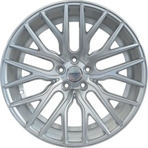 4 Gwg Wheels 20 Inch Staggered Silver Flare Rims Fits Ford Mustang Ecoboost I4 - $799.99