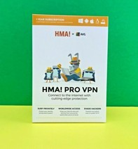 AVG HMA! PRO VPN Software 1 Year Subscription - for All Devices #7278 - $16.64