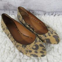 Givenchy Leopard Print Flats Ballet Womens Size 36.5 - $69.95