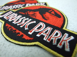 Lot of 2 Brand New JURASSIC PARK - Original Movie Prop Themepark Patches - $7.79
