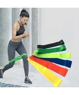 Yoga Fitness Resistance Workout Elastic Rubber Bands For Indoor in 5 Colors - $9.99