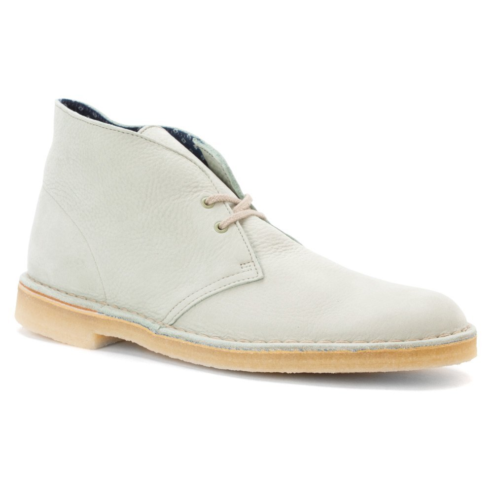 Clarks Men's Desert Boot Pale Green Nubuck 7.5 M US