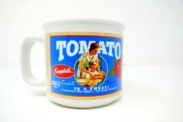 Campbell's Tomato Soup Ceramic Coffee Mug Sweetened By The Sun Item 31571 - $12.95