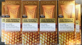 Lot Of 4 boxes L'Oreal Age Perfect Hydra-Nutrition All-Over Honey Balm 1.7oz - $23.75
