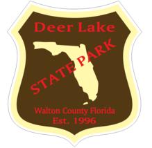Deer Lake Florida State Park Sticker R6711 - $1.45+