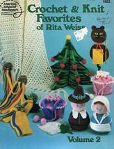 Crochet & Knit FAVORITES Vol 2 American School of Needlework Leaflet 1023 1983 - $6.92