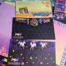 Lisa Frank Vintage Rare Stationery Lot Ice Cream Cleocatra Fruit Elephant Dream image 8