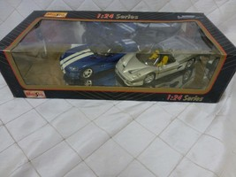 Maisto 1:24 Series 2 Cars in Box #88916 NOS Sealed - $19.24