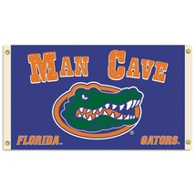 Florida Gators Man Cave 3 ft x 5 ft Flag With 4 Grommets - $35.95