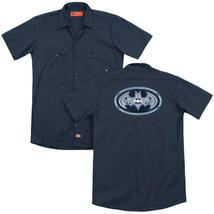 Batman - Cyber Bat Shield (Back Print) Adult Work Shirt - $44.99+