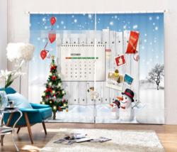 3D Christmas913 Blockout Photo Curtain Printing Curtains Drapes Fabric Window UK - $145.49+