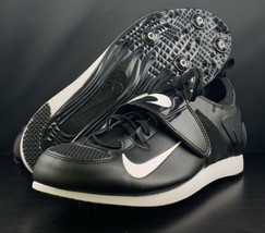 NEW Nike Zoom PV II Black Track & Field Spike Shoes 317404-017 Men's Size 6 - $79.14
