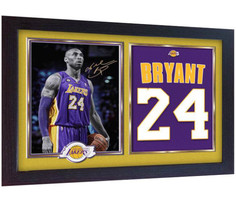 Kobe Bryant Lakers NBA signed autograph photo poster print KOBE BRYANT F... - $20.66