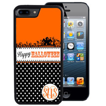 HALLOWEEN CASE FOR iPHONE X 8 7 6 5 SE 5C PLUS RUBBER HAUNTED HOUSE POLK... - $13.98