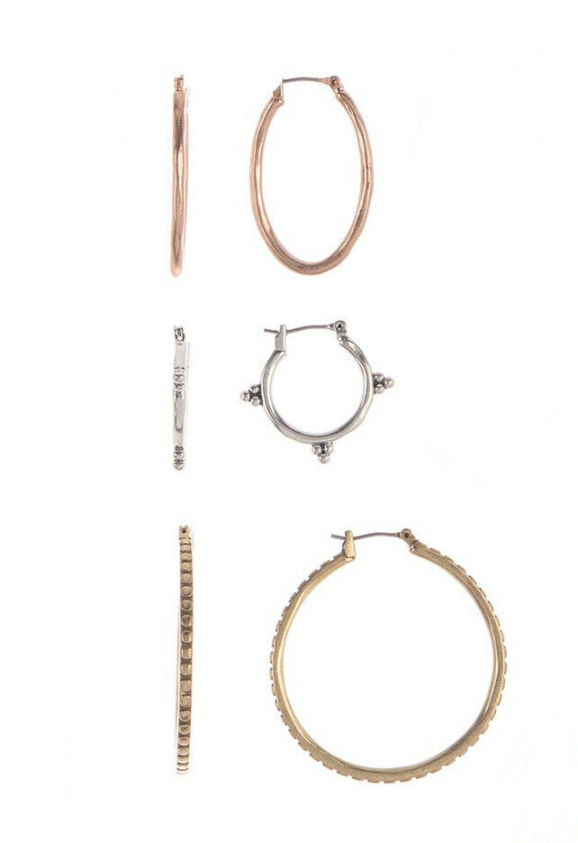 18K Gold Tone over 925 Silver Inside Out Genuine Ruby Hoop Earrings