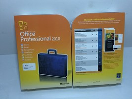MICROSOFT OFFICE PROFESSIONAL 2010 FULL  VERSION 64/32 BIT DVD+KEY CARD  - $145.00