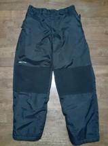 Arctix Boys Girls Ski Snow Pants Sz Youth Mediuum 12 Black Snowboard Sle... - $22.27