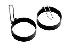 Premier Housewares Non-stick Egg Rings With Folding Handles, 7.5 Cm, Set... - $40.21 CAD