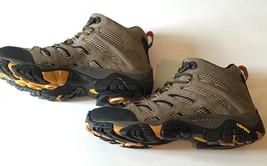 Merrell Men's Moab Ventilator Mid Hiking Boots shoes Walnut 8 D(M) US j8... - $95.09