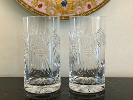 Waterford Crystal Set of 2 Millennium Universal Highball Glasses - $189.00