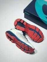 Asics Men's Gel-Kayano 25 White/Blue Running Shoe image 3