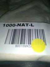 Econscious T-Shirt Men's LARGE Short Sleeve Tee Organic Cotton 1000-Natural New  image 6