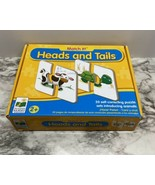MATCH IT! HEADS AND TAILS, 20 SELF-CORRECTING PUZZLES, ANIMALS, EDUCATIO... - $6.93