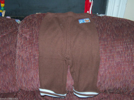 Disney Tigger Brown/Blue Pants size 12-18 months Boy's NEW LAST ONE HTF - $25.99