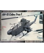 BELL AH-1S Cobra Helicopter 1/48 Model Kit (sealed bags) 1987 Fujimi Tes... - $32.92