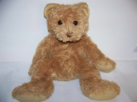 "TY CLASSICS WALNUT TAN COLOR TEDDY BEAR SUPER SOFT FUR BUDDY SIZE 12"" TALL - $6.32"