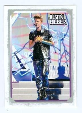 Primary image for Justin Bieber trading card 2012 Panini #14