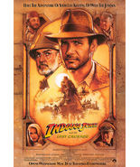 1989 INDIANA JONES AND THE LAST CRUSADE Movie POSTER 27x40 Original Vint... - $34.99