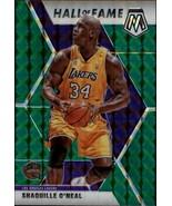 2019-20 Panini Mosaic Green #281 Shaquille O'Neal Lakers - $8.95