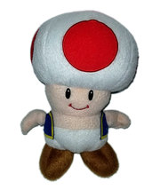 "Super Mario Bros. ""Toad"" Official 2012 Plush - $9.88"
