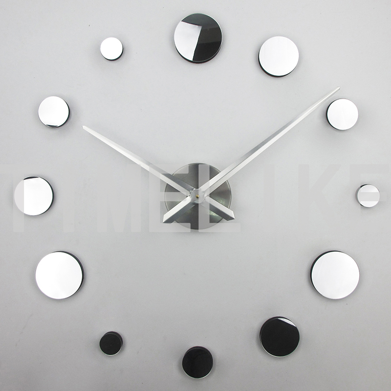 17 new clock large wall stickers 3d