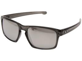 Oakley Sliver Sunglasses with Grey Smoke Frame Chrome Iridium Lens - $64.99
