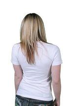 Neff Mujer Blanco Oso de Peluche Camiseta Pequeño O Mediano Nwt image 3