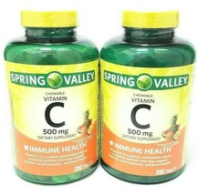 Spring Valley Chewable C Vitamin Multiple Fruit Flavors Supplement (2 Pack) - $33.65