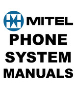 Huge MITEL Telephone Manual Voice Mail PHONE SYSTEM Programming MANUALS ... - $10.95