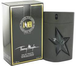 Thierry Mugler Angel Men Pure Leather Cologne 3.3 Oz Eau De Toilette Spray  image 3