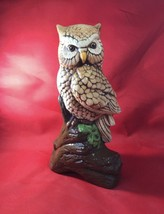 "Wise Barn Owl Statue 10"" X 6"" - $10.40"