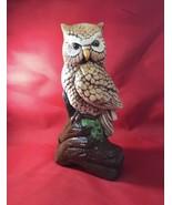 "Wise Barn Owl Statue 10"" X 6"" - $10.40"