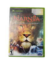 Chronicles of Narnia the Lion Witch the Wardrobe Xbox Video Game Complete - $7.95
