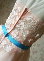 Blush Sleeveless Lace Tulle Flower Girl Dress Toddler Blush Princess Dress NWT image 8