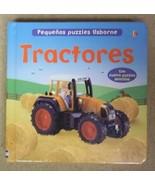 Usborne Tractores (Pequenos Puzzles Usborne) Puzzle Book Spanish 82-57e ... - $4.00