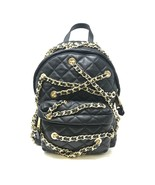 Moschino Women's Metallic Quilted Leather Backpack With Gold-Tone Chains - $1,299.00
