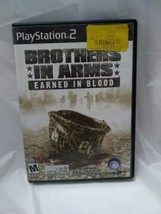 Brothers in Arms: Earned in Blood (Sony PlayStation 2, 2005) PS2 - $5.93