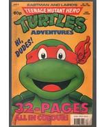 Teenage Mutant Hero Turtles #19-1990-rare U.K. edition in color-Ninja Tu... - $55.87