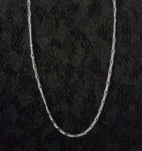 Figaro Chain Necklace - .925 Sterling Silver  [GS] - $10.36